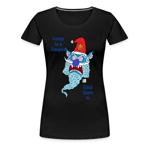 Santa Vampire - Women's Premium T-Shirt