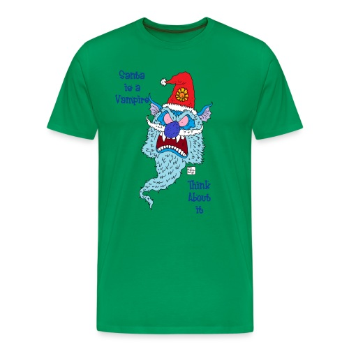 Santa Vampire - Men's Premium T-Shirt