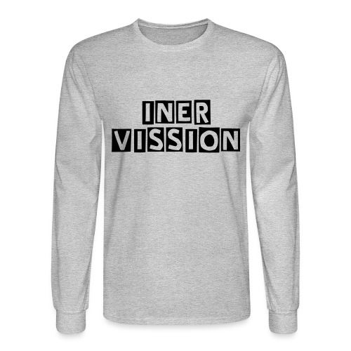Inervission Banner - Intervention - Men's Long Sleeve T-Shirt
