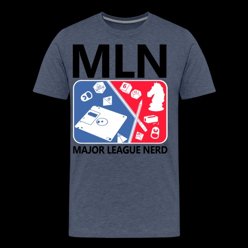 Major League Nerd - Men's Premium T-Shirt