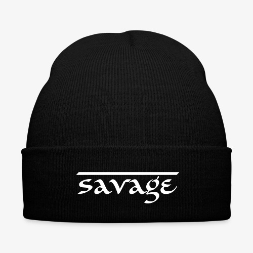Savage - Frontier Beanie  - Knit Cap with Cuff Print