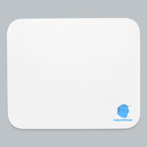 SupaSimon Mixed Logo Mouse Pad - Mouse pad Horizontal