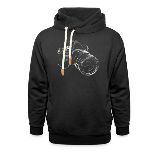 The Camera - Shawl Collar Hoodie