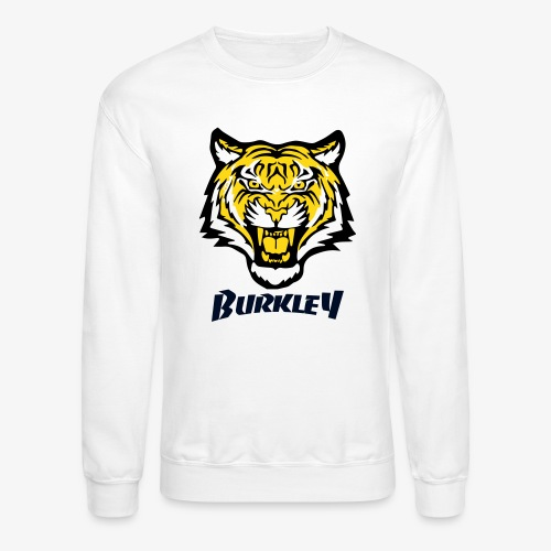 Mens Velvet Tiger Patch - Crewneck Sweatshirt