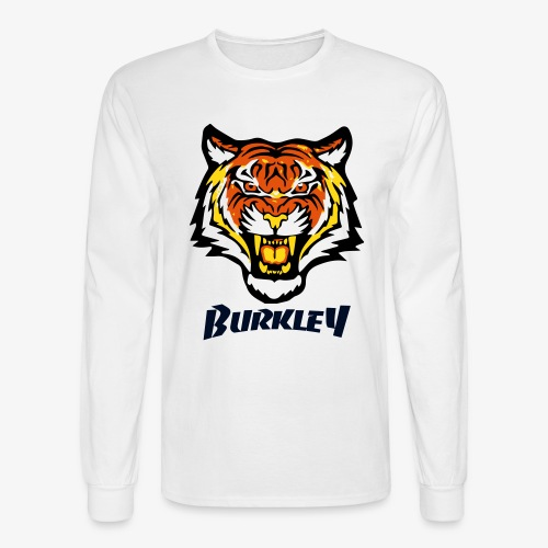 Mens Velvet Tiger Patch - Men's Long Sleeve T-Shirt