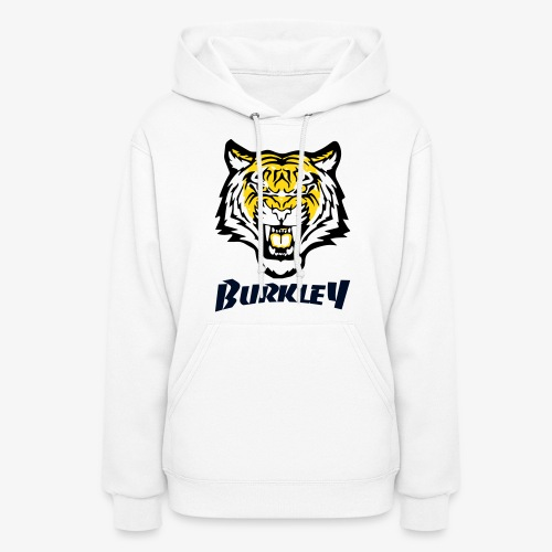 Patch Velvet Print Tiger - Women's Hoodie