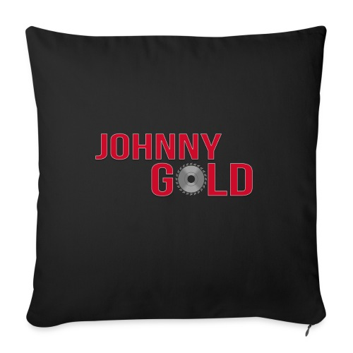 "Johnny Gold pillow - Throw Pillow Cover 18"" x 18"""