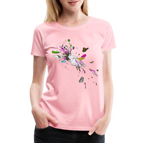 Mr Whippy's Revenge Ladies Premium T - Women's Premium T-Shirt