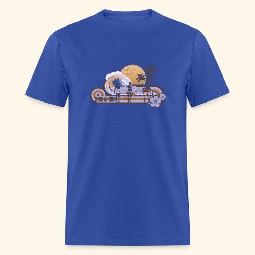 On The Beach - Men's T-Shirt