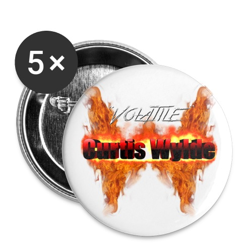 VCW Button (5 pk) - Buttons large 2.2'' (5-pack)