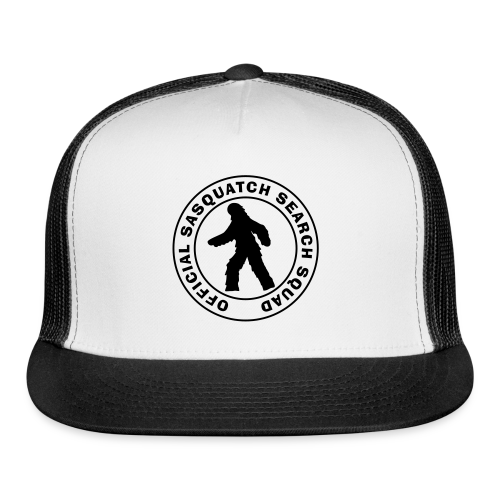 Official Sasquatch Search Squad Bigfoot Trucker Cap - Trucker Cap