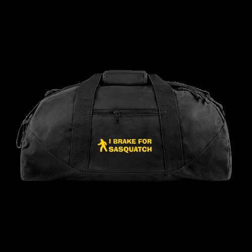 I Brake for Sasquatch Duffle Bag - Duffel Bag