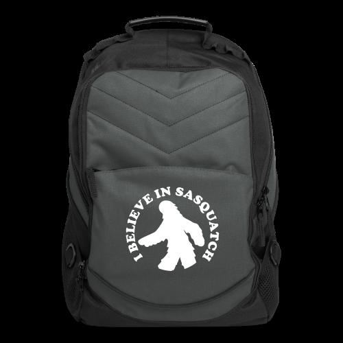 I Believe in Bigfoot Sasquatch  Laptop Backpack - Computer Backpack