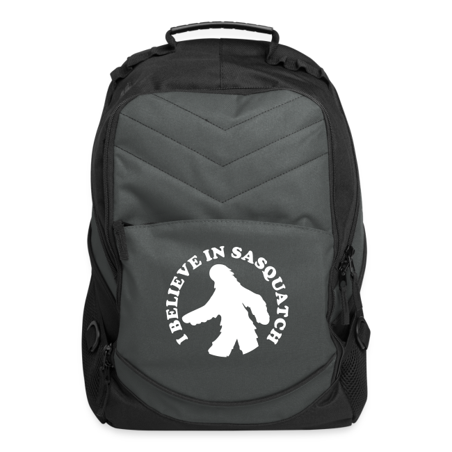 I Believe in Bigfoot Sasquatch  Laptop Backpack