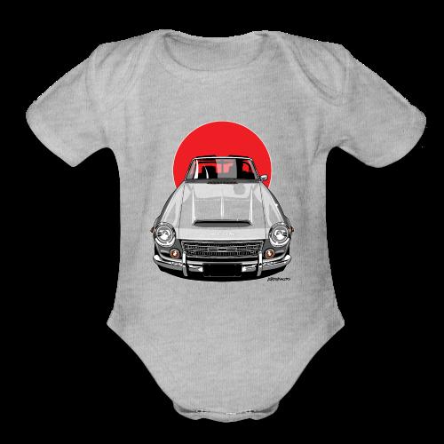 The Sun 2000 Fairlady Roadster - Organic Short Sleeve Baby Bodysuit