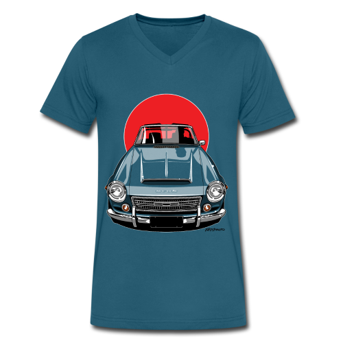 The Sun 2000 Fairlady Roadster - Men's V-Neck T-Shirt by Canvas