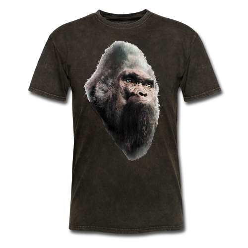 Sasquatch Bigfoot Vintage Shirt - Adult T-Shirt - Men's T-Shirt
