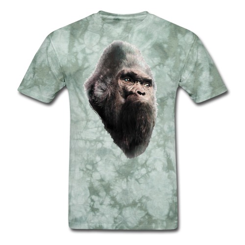 Sasquatch Bigfoot Vintage Shirt - Tie-Dye Shirt - Men's T-Shirt