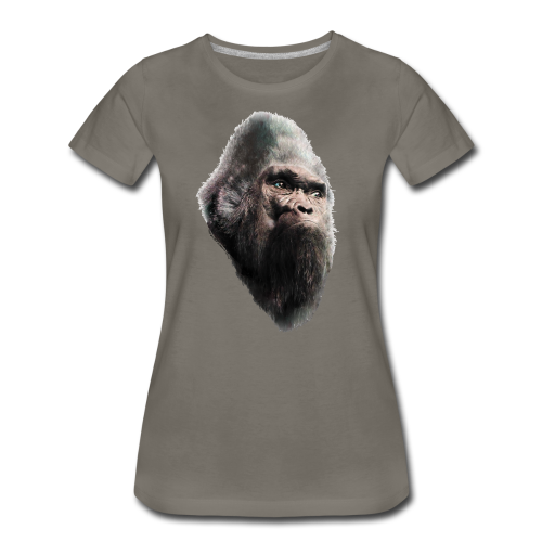 Sasquatch Bigfoot Vintage Shirt - Women's Fitted Shirt - Women's Premium T-Shirt