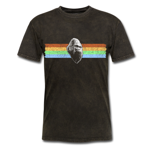 Sasquatch Bigfoot Vintage Distressed Shirt - Adult - Men's T-Shirt