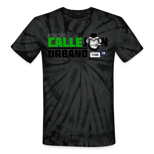 Simio Sicodelico logo - Unisex Tie Dye T-Shirt