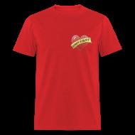 T-Shirts ~ Men's T-Shirt ~ Rat Loves Dogs (2 sided)