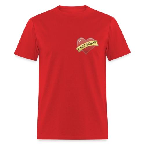 Rat Loves Dogs (2 sided) - Men's T-Shirt