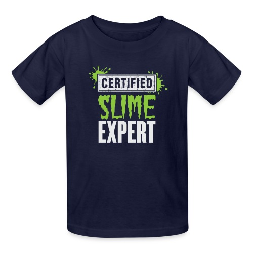Certified Slime Expret - Kids' T-Shirt