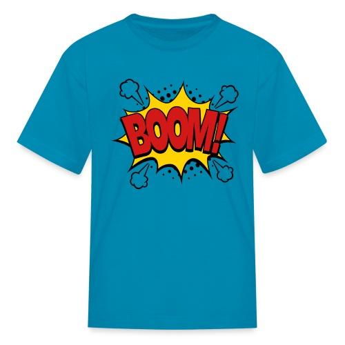 Boom Comic Style - Kids' T-Shirt