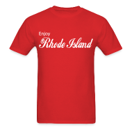 T-Shirts ~ Men's T-Shirt ~ Enjoy Rhode Island