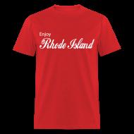 T-Shirts ~ Men's T-Shirt ~ Enjoy Rhode Island