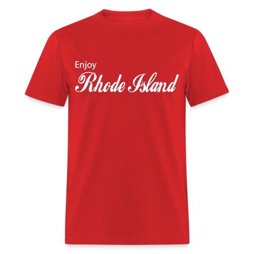 Enjoy Rhode Island - Men's T-Shirt