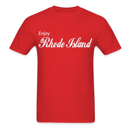Enjoy Rhode Island - Men's T-Shirt