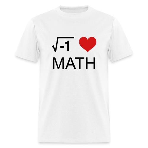 Love Math - Men's T-Shirt