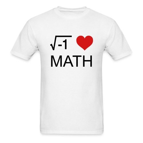 Love Math - Men's T-Shirt