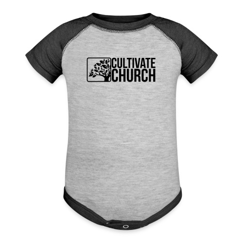 Cultivate Church Onsie - Contrast Baby Bodysuit