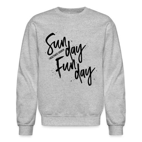 Sunday Funday Sweatshirt - Crewneck Sweatshirt