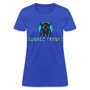 Ownage Pranks Grey Logo Shirt - Women's T-Shirt