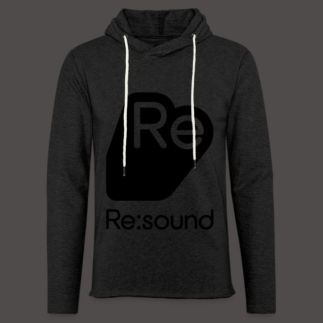 Re:Sound Music - Lightweight Hoodie - Black Font