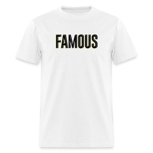 FAMOUS 3D - Men's T-Shirt