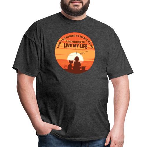 Going Fishing - Men's T-Shirt