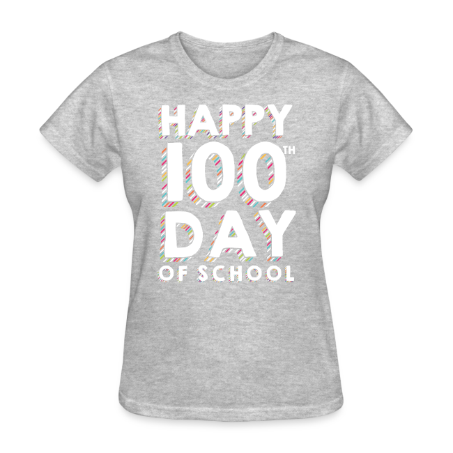Happy 100th Day of School | Colorful Sprinkles