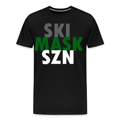 Men's Ski Mask SZN Tee - Men's Premium T-Shirt
