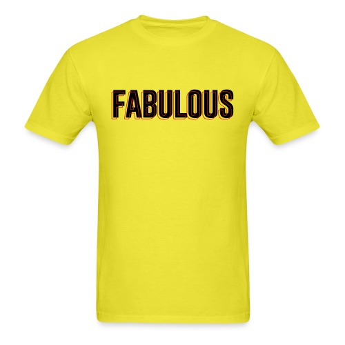 FABULOUS3D - Men's T-Shirt
