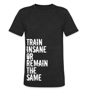 Unisex Tri-Blend T-Shirt by American Apparel - Motivational Apparel | XFit Motivation | Awesome Gear For Fitness Addicts --- T-Shirts, Long Sleeves, Sweatshirts, Tank Tops, and more! Male and Female Clothing Available + Accesories such as iPhone Cases