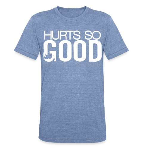 Unisex Tri-Blend T-Shirt by American Apparel - Motivational Apparel | XFit Motivation | Fitness Motivation | Awesome Gear For Fitness Addicts --- T-Shirts, Long Sleeves, Sweatshirts, Tank Tops, and more! Male and Female Clothing Available + Accesories such as iPhone Cases