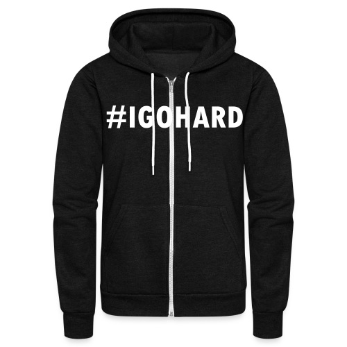 Unisex Fleece Zip Hoodie - Motivational Apparel | XFit Motivation | Awesome Gear For Fitness Addicts --- T-Shirts, Long Sleeves, Sweatshirts, Tank Tops, and more! Male and Female Clothing Available + Accesories such as iPhone Cases