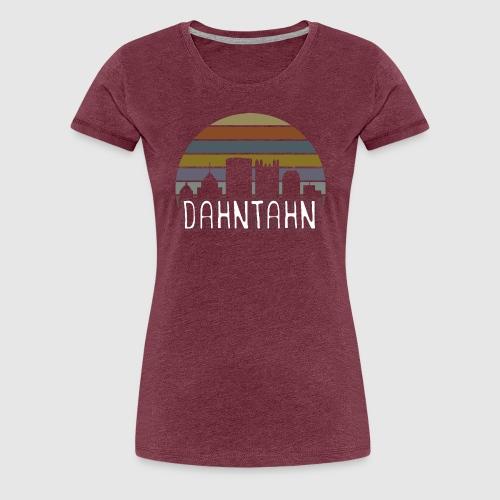 Dahntahn - Women's Premium T-Shirt