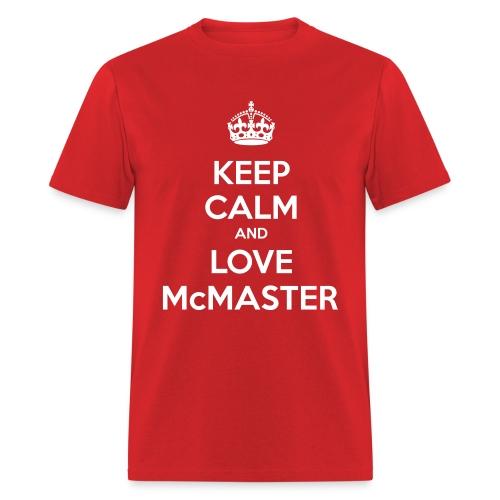 Love McMaster - Men's T-Shirt