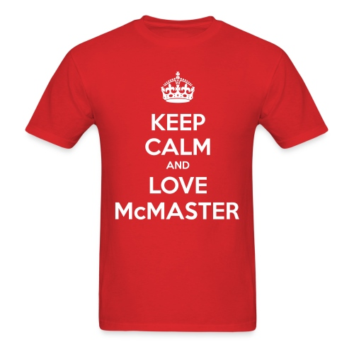 Love McMaster - Men's T-Shirt